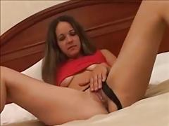 Kinky latin college girlfriend fucks and sucks