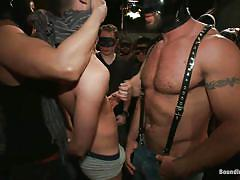 public, domination, humiliation, gay bdsm, drinking, gay bondage, gay blowjob, masks, sucking nipples, alcohol, suffocation, gay gang bang, crowd, john jammen, spencer reed, tyler alexander, johnny lawless, jake steel, cole streets, bound in public