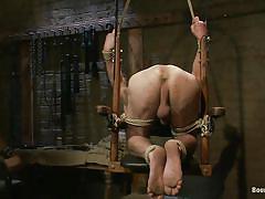 handjob, punishment, domination, gay bdsm, tattooed, tied up, gay bondage, gay blowjob, ropes, bondage device, shaved anus, vault, muscled gays, penis torture, leo forte, jason miller, bound gods, kinky dollars