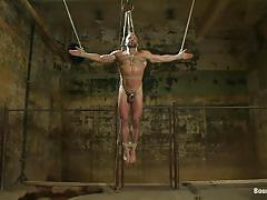 handjob, bondage, hanging, punishment, blowjob, water, gay bdsm, gays, tied up, nice ass, washing, hunk, ropes, vault, morgan black, dirk caber, bound gods, kinky dollars