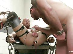 Hard punishment for muscled gay