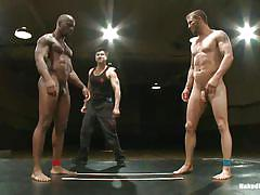 tattoo, interracial, wrestling, gays, sexfight, fighting, hard cock, floor, gay blowjob, gay domination, bbc, hunk, tatami, brenn wyson, race cooper, naked kombat, kinky dollars