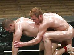 tattoo, handjob, wrestling, domination, oiled, fingering, naked, gays, floor, position 69, tatami, arena, hot abs, oiled gays, muscled gays, shaved cocks, combat, dean tucker, paul wagner, naked kombat
