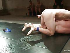 Pretty boys wrestling hard