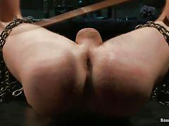 tattoo, handjob, bondage, bdsm, spanking, punishment, screaming, tied up, gay anal, lash, chains, vault, sebastian keys, van darkholme, jeremy stevens, bound gods, kinky dollars