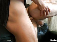 tattoo, casting, cumshot, ass fingering, bareback, gays, from behind, table, hairy ass, spread legs, cum on face, lube, gay anal, tight anus, denis reed, bareback casting, haze cash