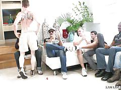 Wild gay party with lots of anal