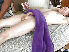 A gay gets his mouth stuffed with a cock