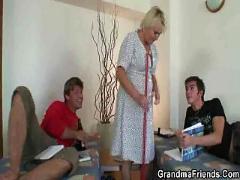 Cock assault on granny