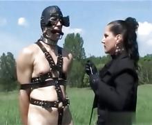 Threesome femdom ponyplay