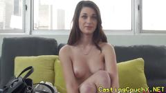 Innocent amateur at casting couch x