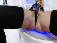 British sluts fuck themselves with dildos 3