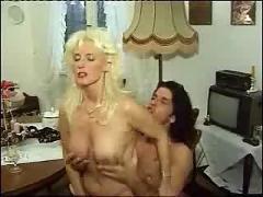 German kinky mature woman in stockings