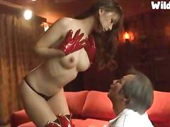 asian, japanese, old and young, cosplay, oriental, pussy licking