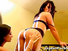 Jayden jaymes lesbian fucking with her bff