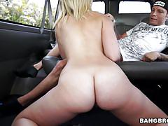 Chase blowing a guy in the bang bus