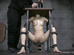milf, bdsm, vibrator, bondage device, restraints, immobilized, infernal restraints, willow hayes