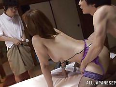 Otaku catches his parents fucking