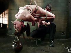 sadism, hanging, tied, fingering, suffocation, executor, asian babe, rope bondage, sadistic rope, kink, marica hase