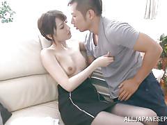 18 year old japanese slut suck his cock