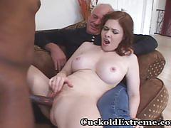 ebony, hairy, redhead, milf, busty, white, interracial, big-cock, cuckold, hubby, bbc