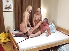 Fd65 a nylon fetish fuck scene