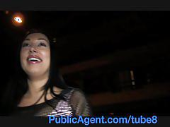 Publicagent big boobs big butt fucked in public toilets