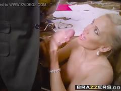 Brazzers - big tits at work -  bankrupt morals