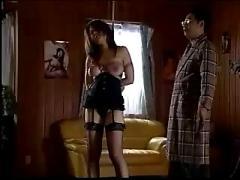 Asian stocking bound spanking