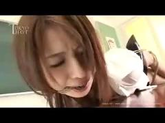 Asian schoolgirl tied up and fucked - hot asian (japanese) teen