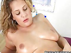 Busty amateur anna showing her big tits on cam