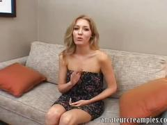 Emily kae loves a creampie deep inside her