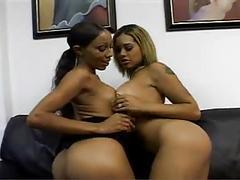 Lesbian girlfriends applying for the job