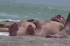 beach, flashing, public nudity