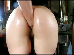 German milf fisting her tight ass. who is she?