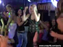 Drunk chicks go wild at hardcore party