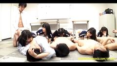 gangbang, japanese, schoolgirl, teen, creampie, jav, petite, school