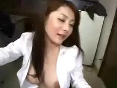 Horny asian teacher