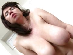 Family sex with mature busty mother