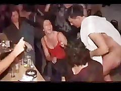 Girls sucking cocks at hen party! - part 9