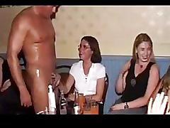 Girls sucking cocks at hen party! - part 9