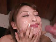 Syouko akiyama bukkake 4