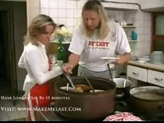 Beverly gets banged dirty by chef