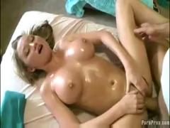 Big boob blonde gets fondled