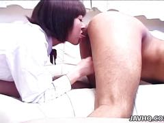 Rynzaki nanaha uses her oral powers on a guy uncensored
