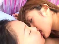 Japanese girls kiss - hot asian (japanese) teen