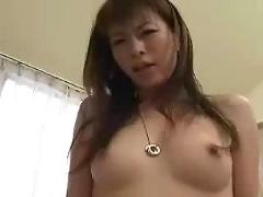 Japanese girl likes tiny asian cock -tight pussy