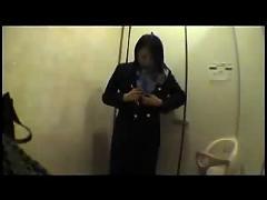 Japanese flight attendant -tight pussy