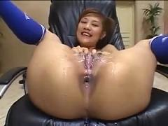 Pussy bukkake with azusa ayano