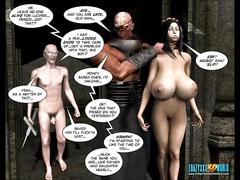 3d comic: shadows of the past. episode 10